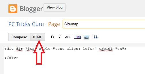 click HTML