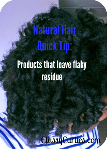 Hair Product Causing Flakes?