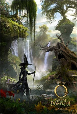 Glimpse at the Witch off of Oz The Great and Powerful