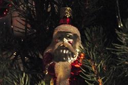 Darth Vader in unserem Weihnachtsbaum...