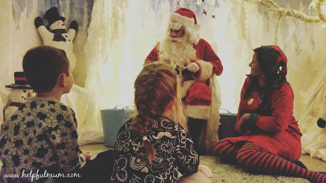 Meeting Santa at Eureka