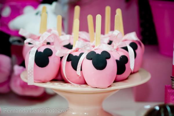 Cakepops Minnie Mouse