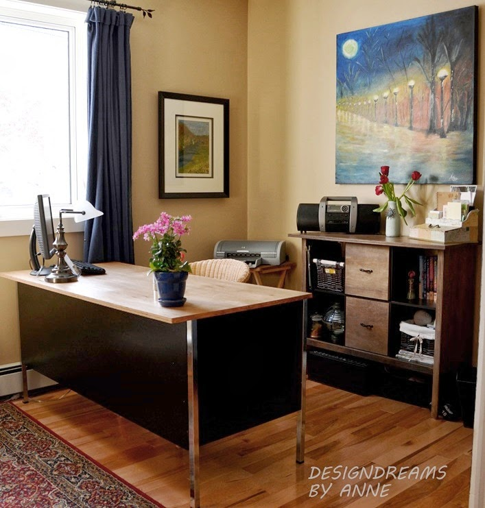 Cozy Home Office designdreamsanne: creating a cozy home office / study