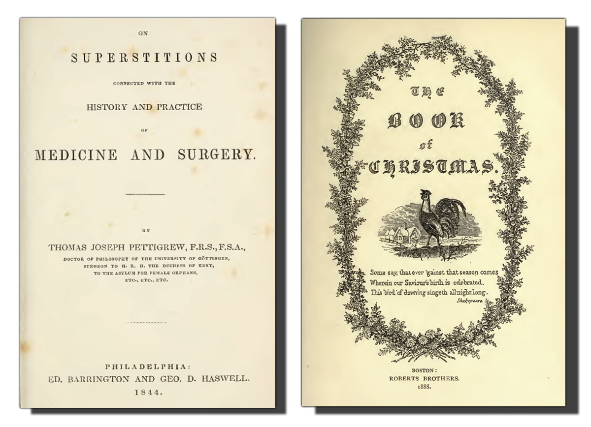 the book shelf the number 13 other superstitions 100 books on popular superstitions article in scientific tracts 1832