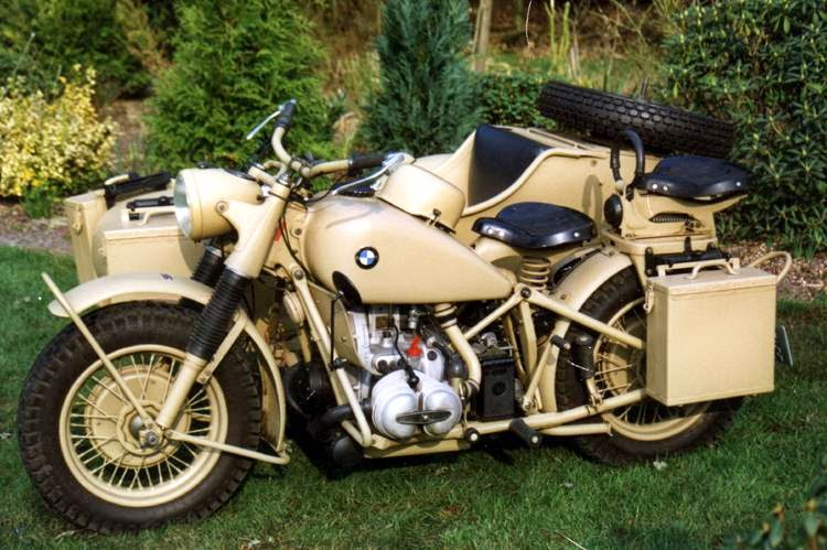 1942 BMW WWII Motorcycle