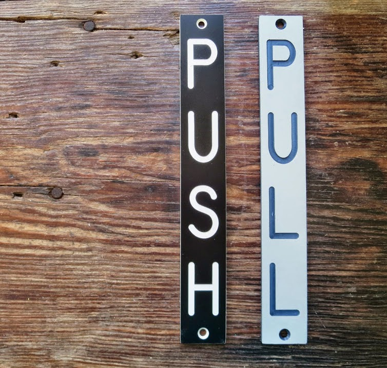 https://www.etsy.com/listing/188738411/vintage-push-pull-engraved-door-signage