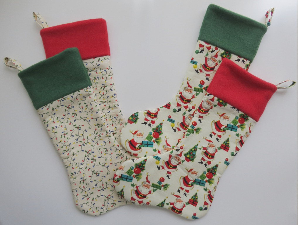 Christmas Funky Stockings Decorations Made From Actual Shoes