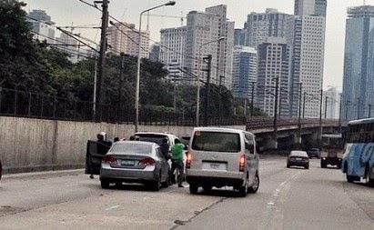 EDSA Viral Photo, Van Recovered