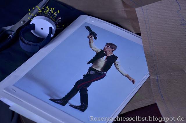 Han Solo Kostüm selber nähen