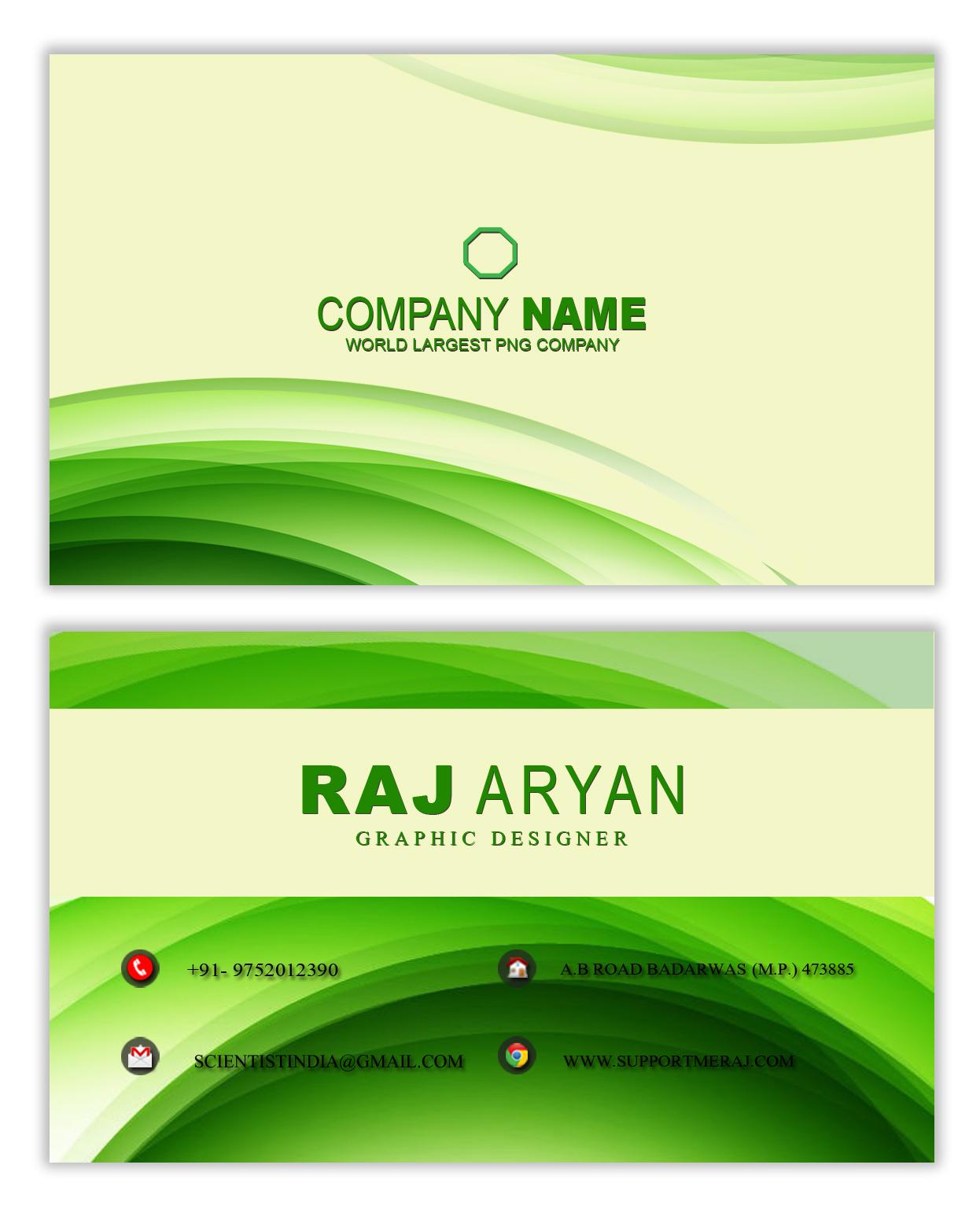 creative design business card psd editable files free design