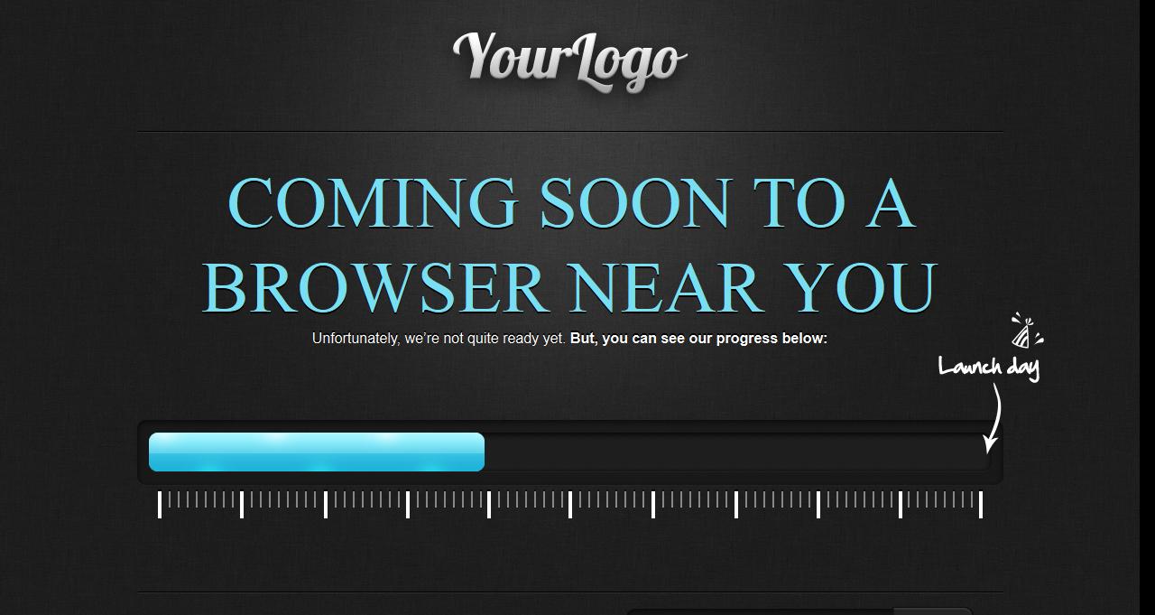 Free Blogspot Blog Templates Coming Soon Blogspot Template