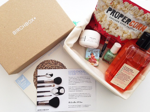 which beauty box uk april birchbox review