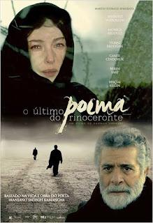 """Poster do filme """"O Último Poema do Rinoceronte"""""""