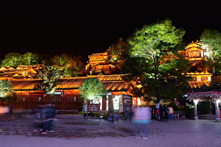 Lijiang, Yunnan at night
