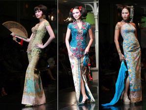 Model kebaya china