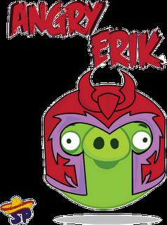 Magneto Superheroes estilo Angry Birds