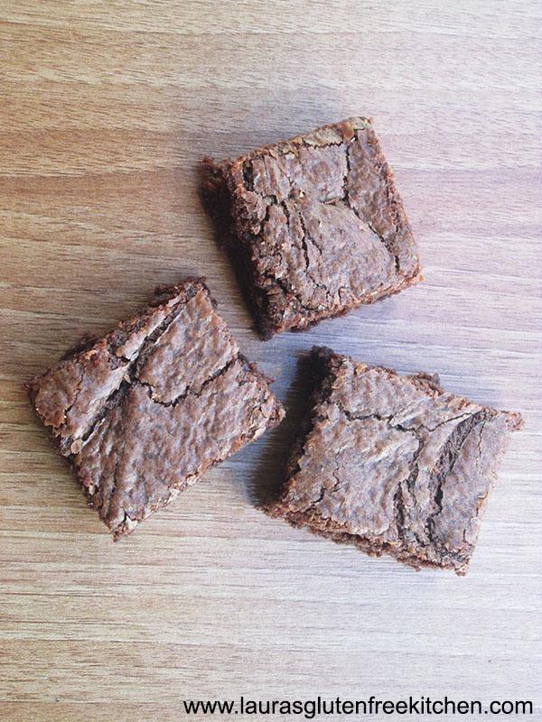 Gluten Free Nutella Brownies