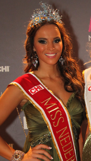 miss netherlands nederland world 2011 winner jill lauren de robles