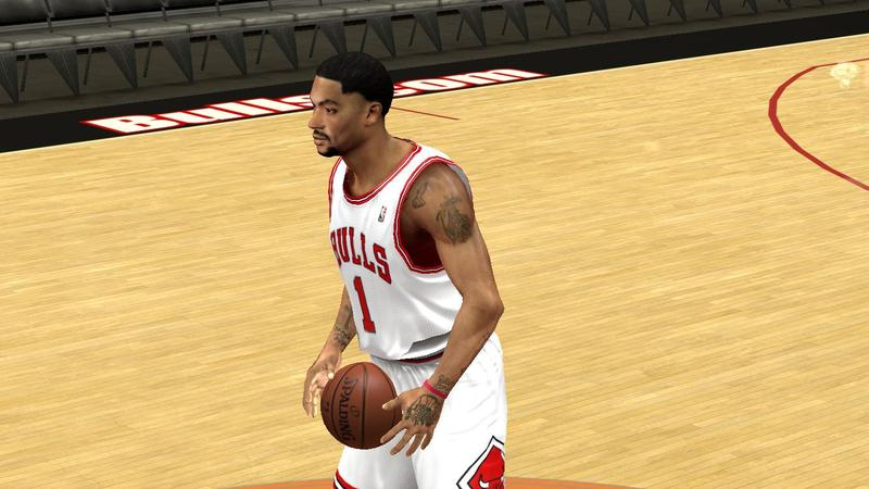 Derrick Rose Hairstyle Update NBA2K