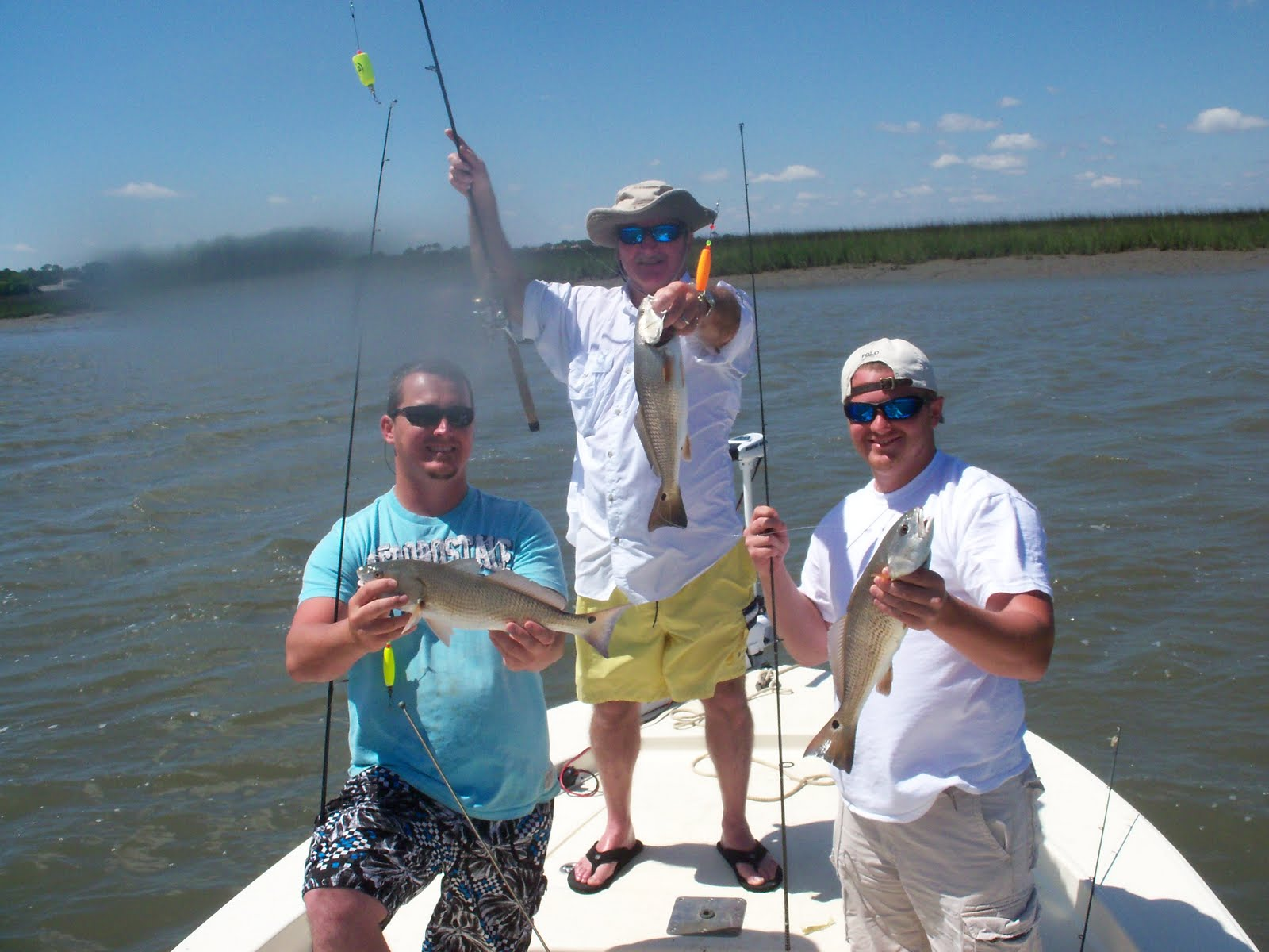 Coastal georgia inshore charters outstanding fishing for St simons island fishing report