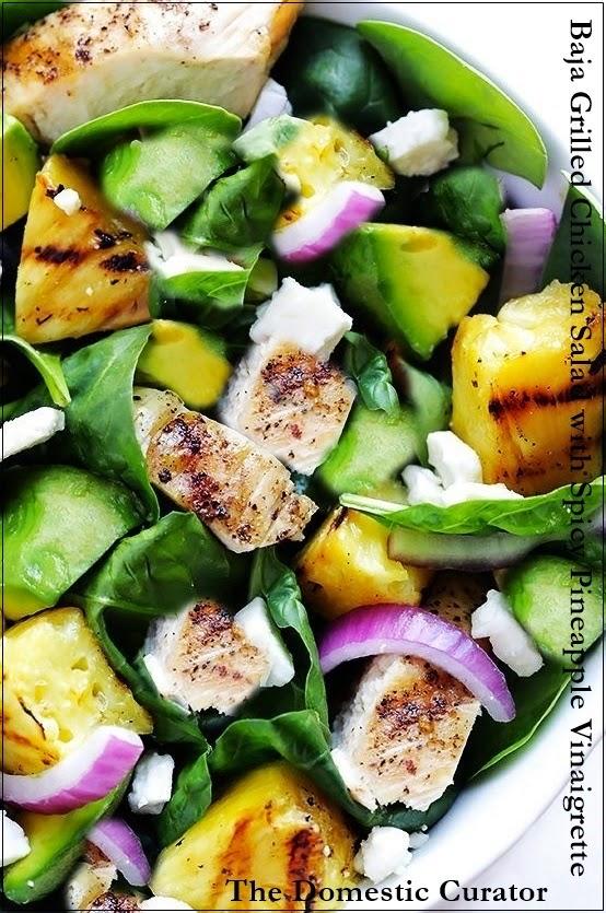 Baja Chicken Salad Baja Grilled Chicken Salad