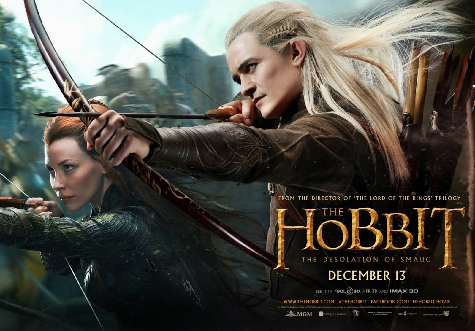 The Hobbit: The Desolation of Smaug - New Trailer & Banners