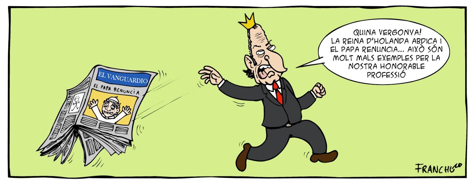 Rey Juan Carlos...abdica?