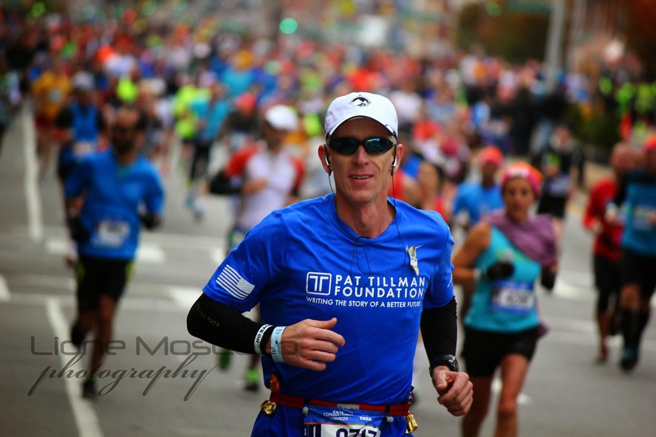El Maratón de la Ciudad de Nueva York - PAT TILMAN FOUNDATION