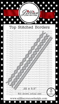 Top Stitched Borders