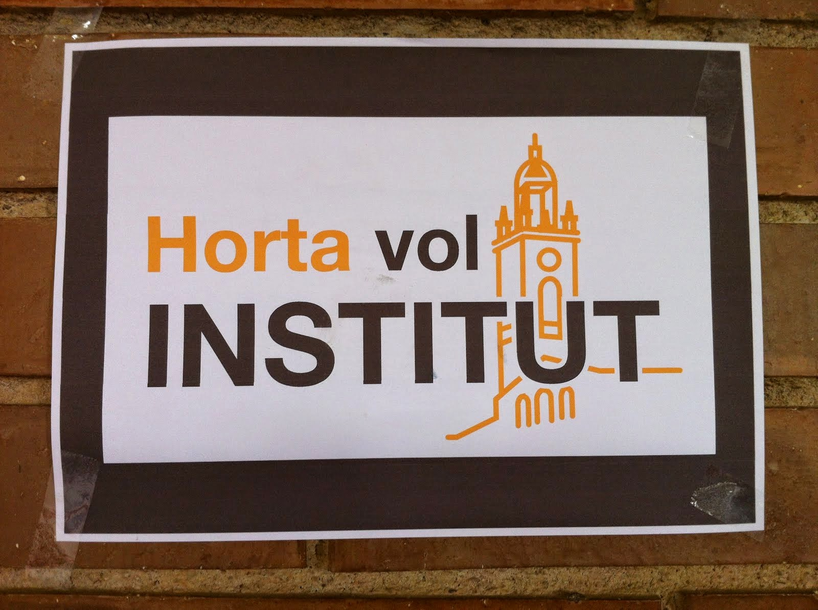 Horta vol Institut