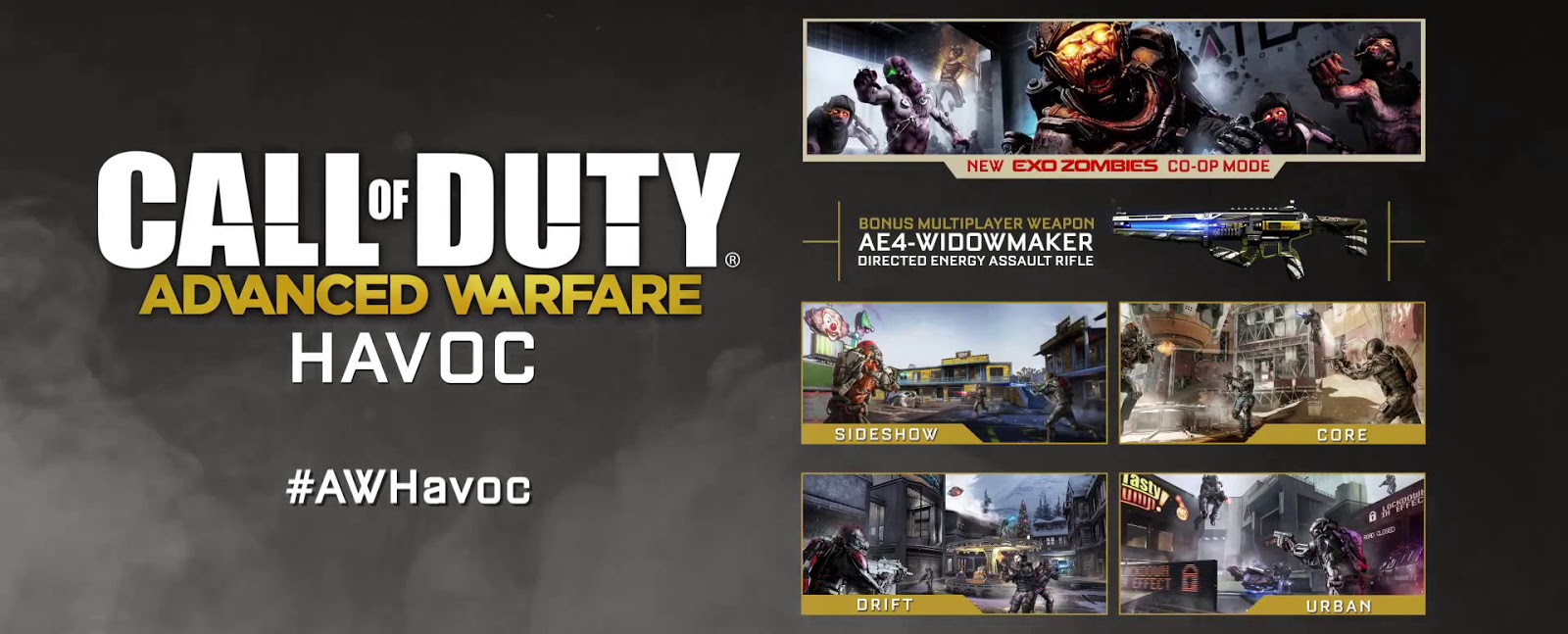 "Call of Duty Advanced Warfare ""Havoc"" exo-Zombies"