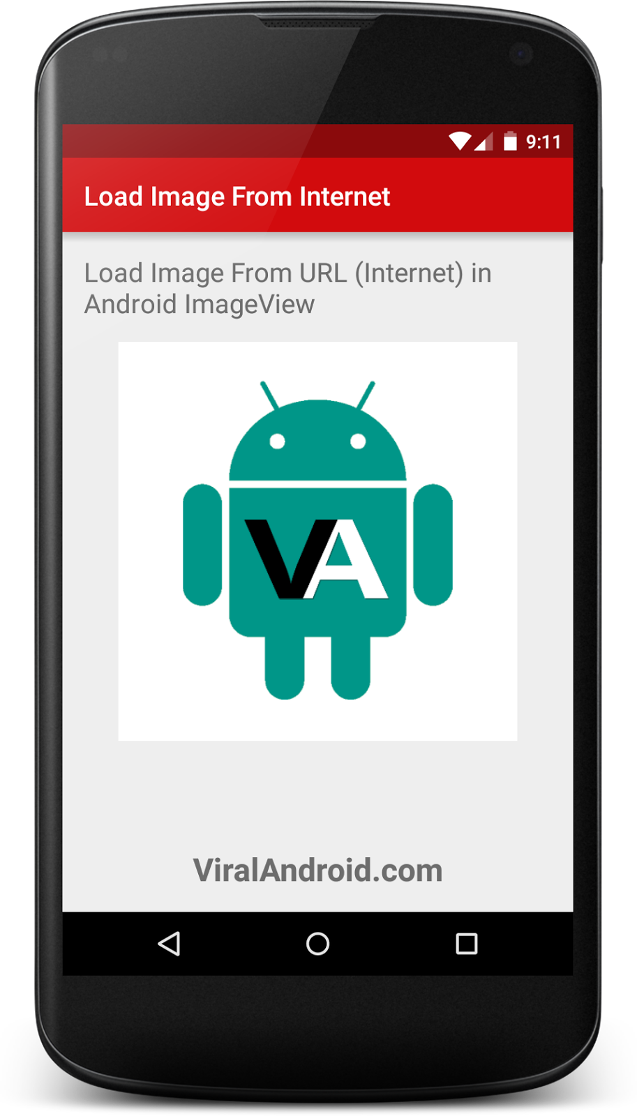 Load Image from URL (Internet) in Android