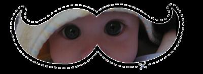 Acessórios: 15 Moustaches Personalizados - Bebê Meme