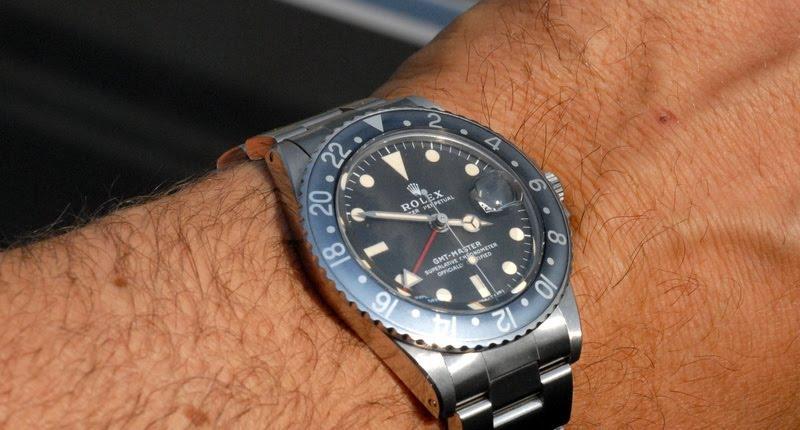 Les Rolex 1675 insert bleu 1675