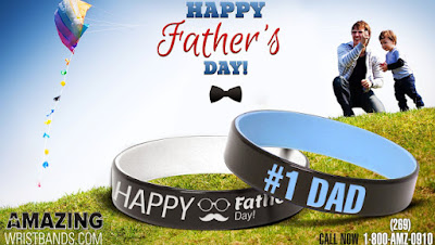 Father's Day Wristbands