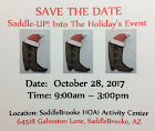 Annual Saddle-UP! Event
