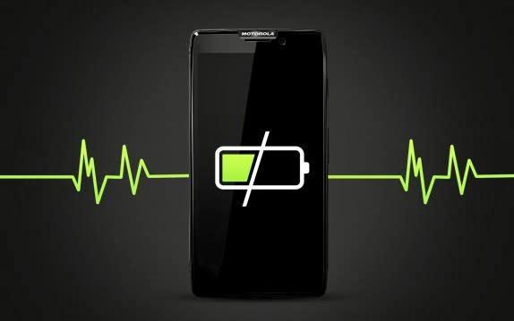 Consumo da bateria dos celulares