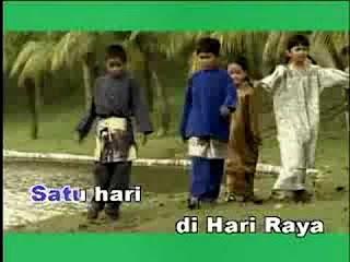 Lagu Raya: Satu Hari Di Hari Raya - M Nasir Karaoke Lirik