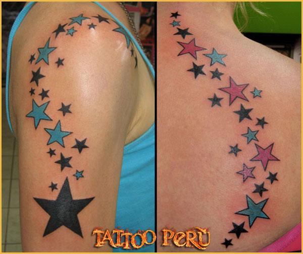 Las mejores fotos de Tatuajes para que puedas conocer como quedan en todas las zonas del cuerpo, así como también todo tipo de tatuajes para que disfrutes de obras de artes:  01_estrellitas_para_chicas