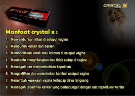 manfaat crystal x