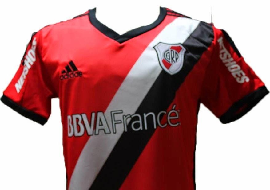 Camiseta suplente, River, River Plate, 2015, 2014, Suplente, El Porvenir,