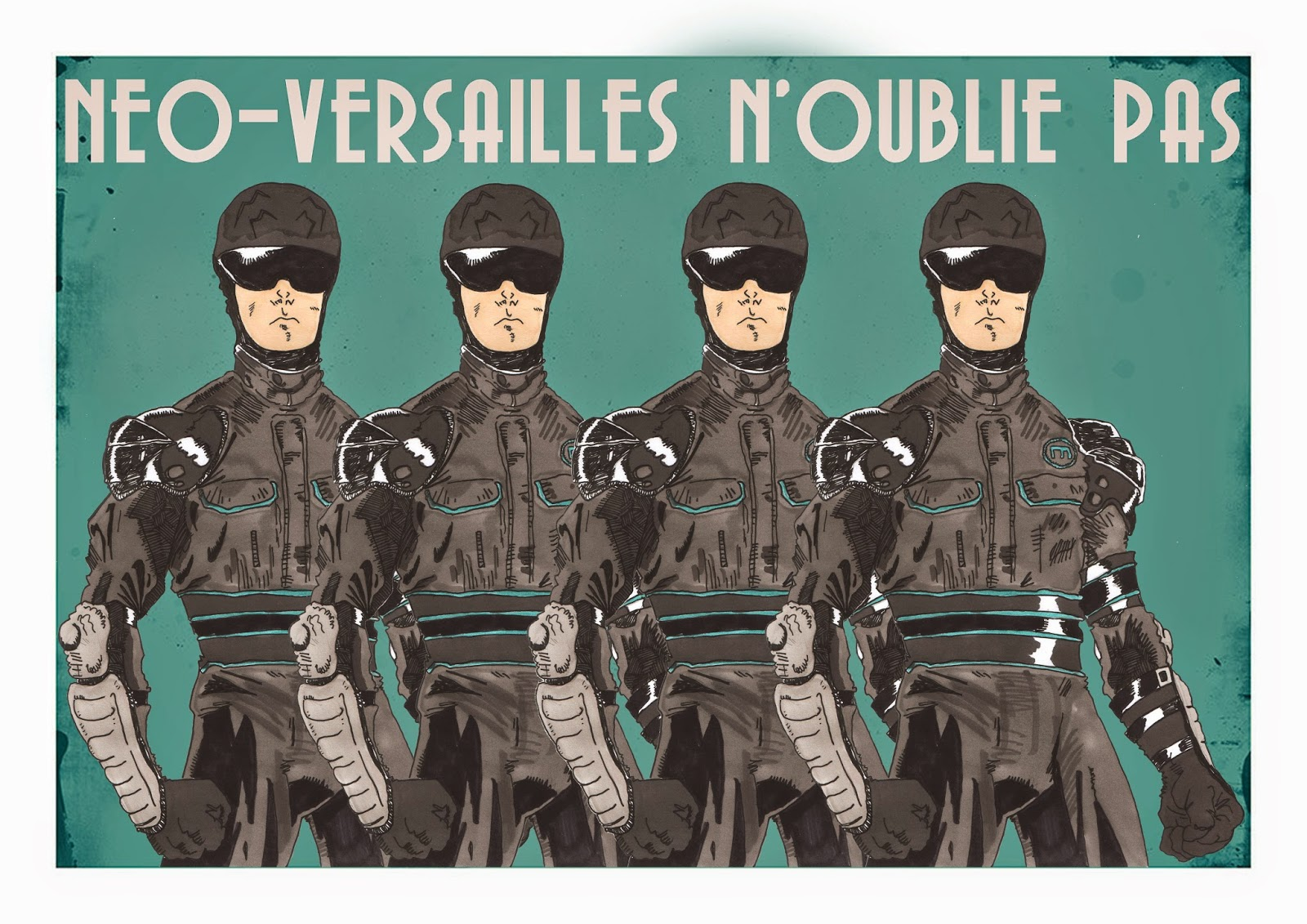 Affiches de propagandes de Neo-Versailles par The Terror Geek Neo+versailles2