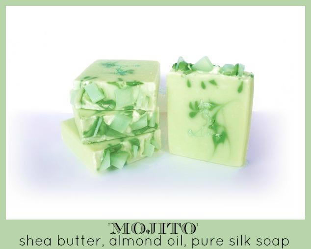 diva soap, mojito, soap swirl