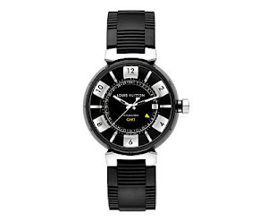 Louis Vuitton Tambour GMT Black Force Watch