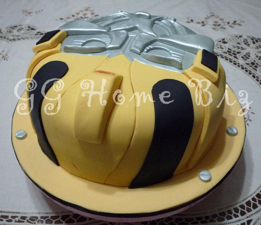 Gg Home Biz Cakes Wedding Cakes Bumblebee Head Birthday Cake For