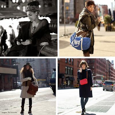 moda frio bagagem estilo viajar
