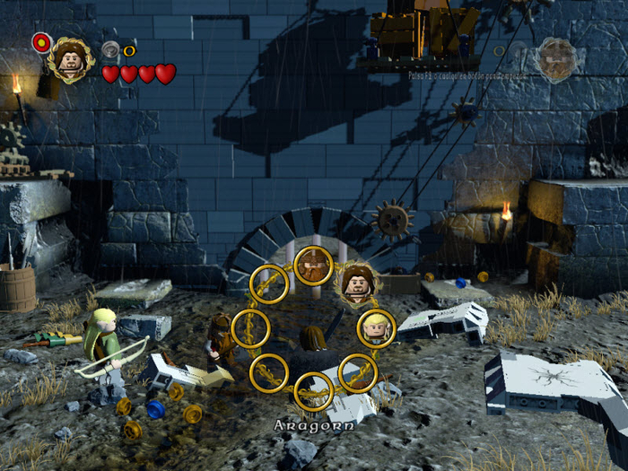 Lego Lord of the Rings: Battle at the Black Gate Game