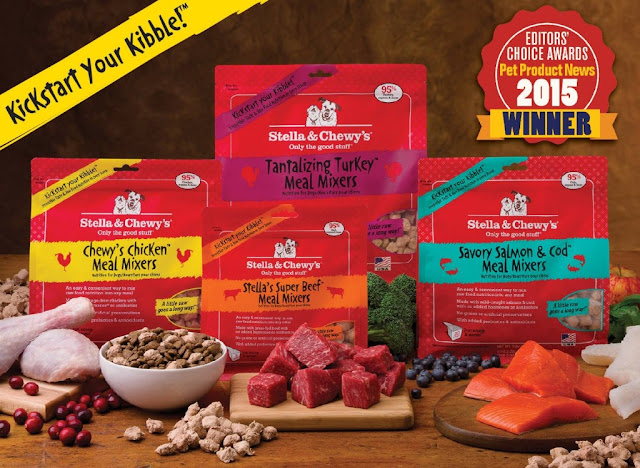 Stella & Chewy's raw pet food freeze dried  Meal Mixers