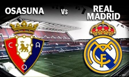 توقيت وموعد مشاهدة مباراة ريال مدريد وأوساسونا اليوم الأربعاء 15/1/2014 والقنوات الناقلة للمباراة