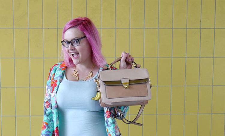 scotstreetstyle, Onward, tropical, Scottish bloggers, pink hair, DIY, Karen Mabon, New Look, primark, fruit, Scottish style, XXL live hair